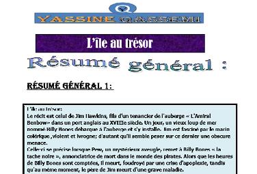 دروس و ملخصات لدروس الدورة الاولى فرنسية للثالثة اعدادي