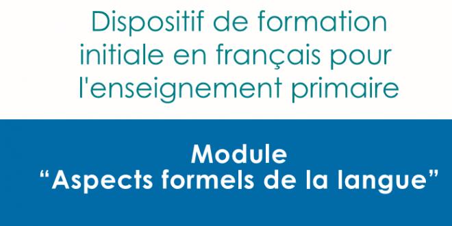 ديداكتيك اللغة الفرنسية وثائق ناذرة جدا